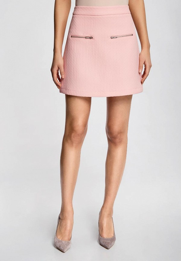 Купить женскую юбку oodji розового цвета в Горловке за 329 грн. - «ModaMay»
