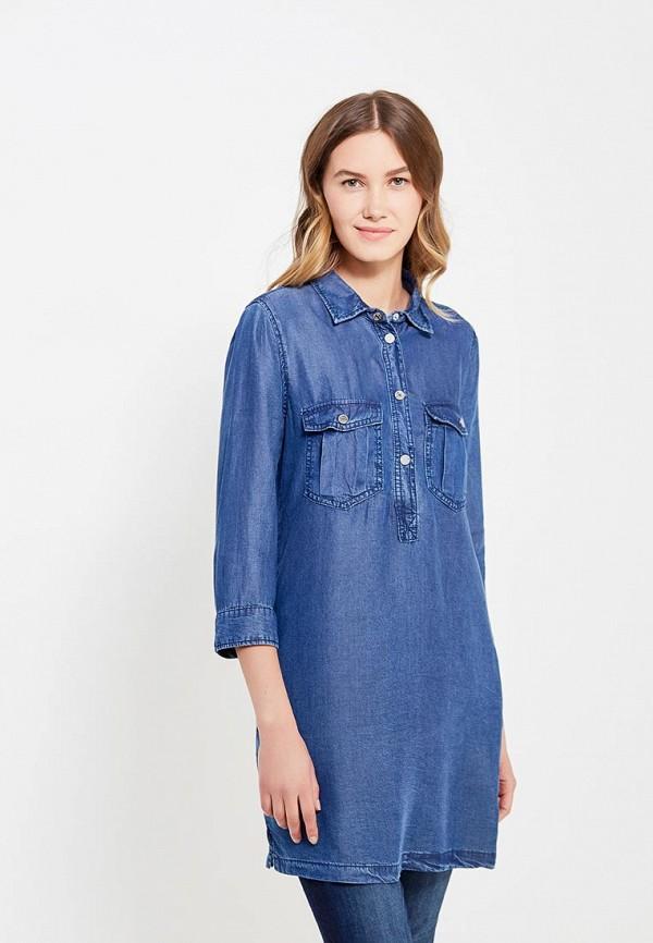 Платье джинсовое oodji oodji OO001EWSBO34
