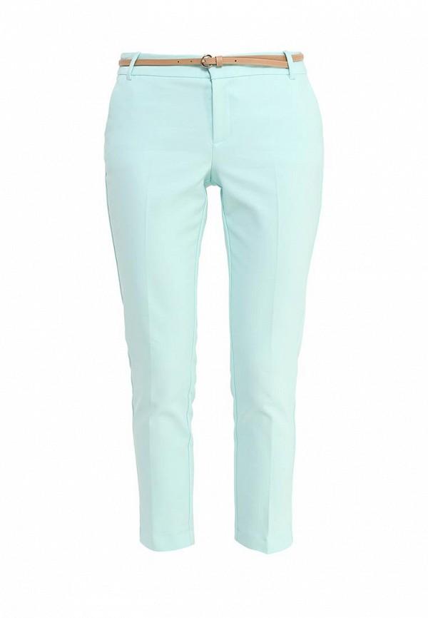 Купить женские брюки oodji мятного цвета