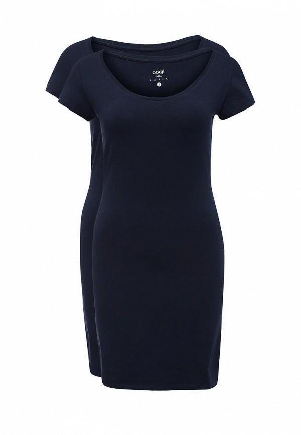 Комплект платьев 2 шт. oodji oodji OO001EWUTX56 пуховик женский baon цвет черный b016515 размер s 44
