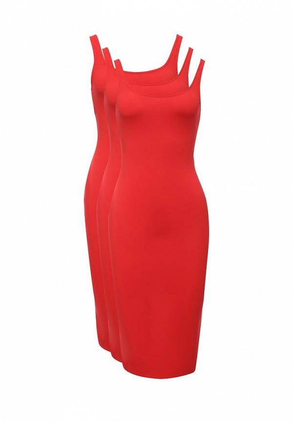 Комплект платьев 3 шт. oodji oodji OO001EWUXB57