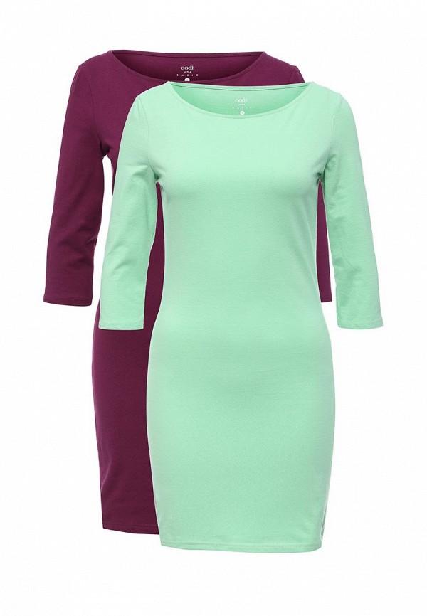 Комплект платьев 2 шт. oodji oodji OO001EWVPQ79 набор для объемного 3д рисования feizerg fsp 001 фиолетовый