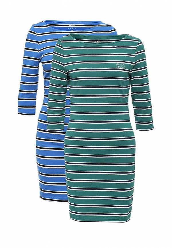 Комплект платьев 2 шт. oodji oodji OO001EWVPQ81 комплект платьев 2 шт oodji oodji oo001ewuxb51