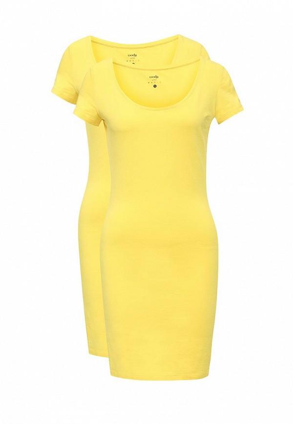 Комплект платьев 2 шт. oodji oodji OO001EWVPQ92