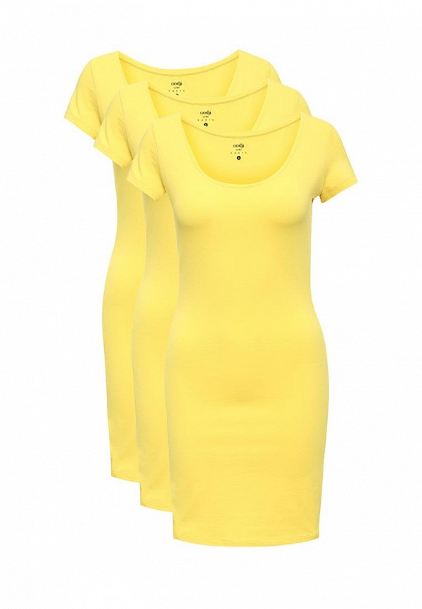 Комплект платьев 3 шт. oodji oodji OO001EWVPQ99