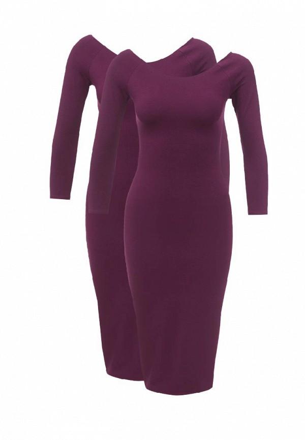 Комплект платьев 2 шт. oodji oodji OO001EWVUK79 набор для объемного 3д рисования feizerg fsp 001 фиолетовый