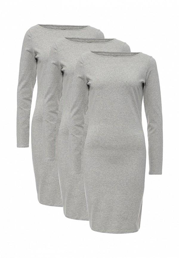 Комплект платьев 3 шт. oodji oodji OO001EWWZW92