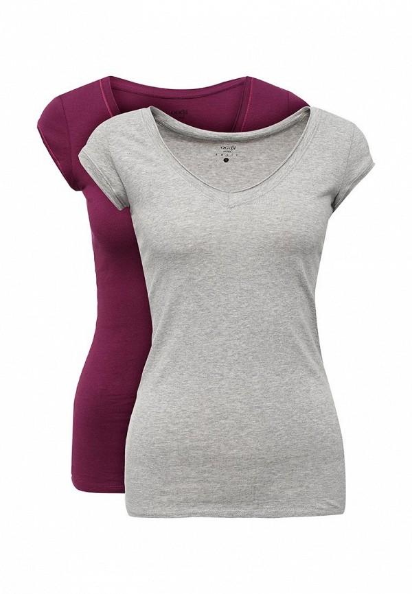Комплект футболок 2 шт. oodji oodji OO001EWYFX29 набор для объемного 3д рисования feizerg fsp 001 фиолетовый