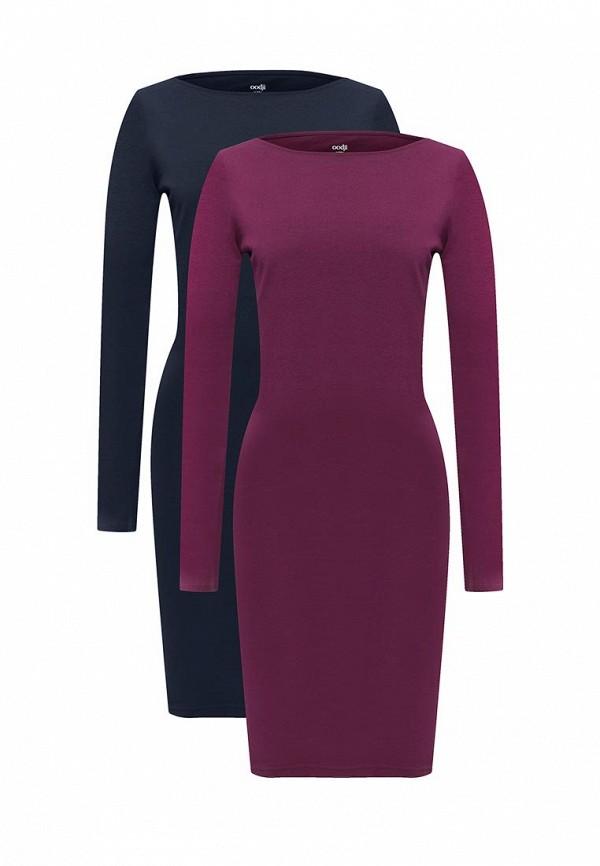 Комплект платьев 2 шт. oodji oodji OO001EWYLG60 набор для объемного 3д рисования feizerg fsp 001 фиолетовый