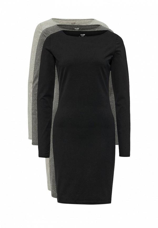 Комплект платьев 3 шт. oodji oodji OO001EWYLG62