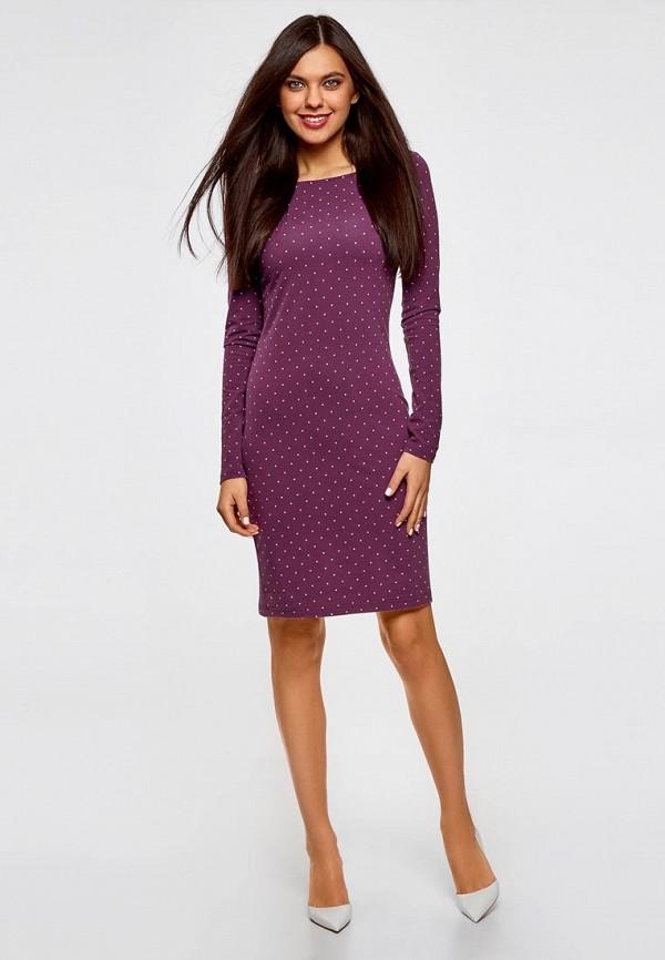 Платье oodji oodji OO001EWZZJ29 набор для объемного 3д рисования feizerg fsp 001 фиолетовый