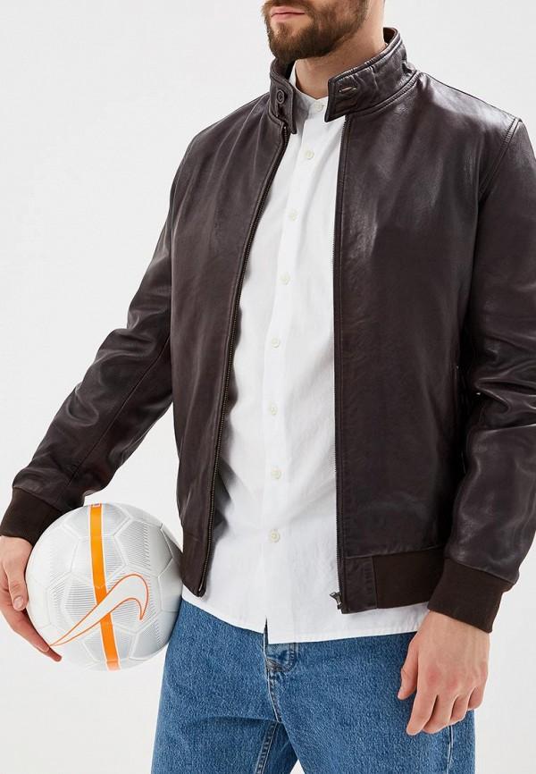 Фото Куртка кожаная OVS. Купить с доставкой