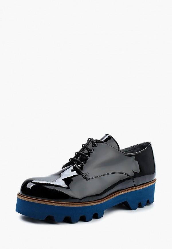 Фото - женские ботинки и полуботинки Oxigeno черного цвета