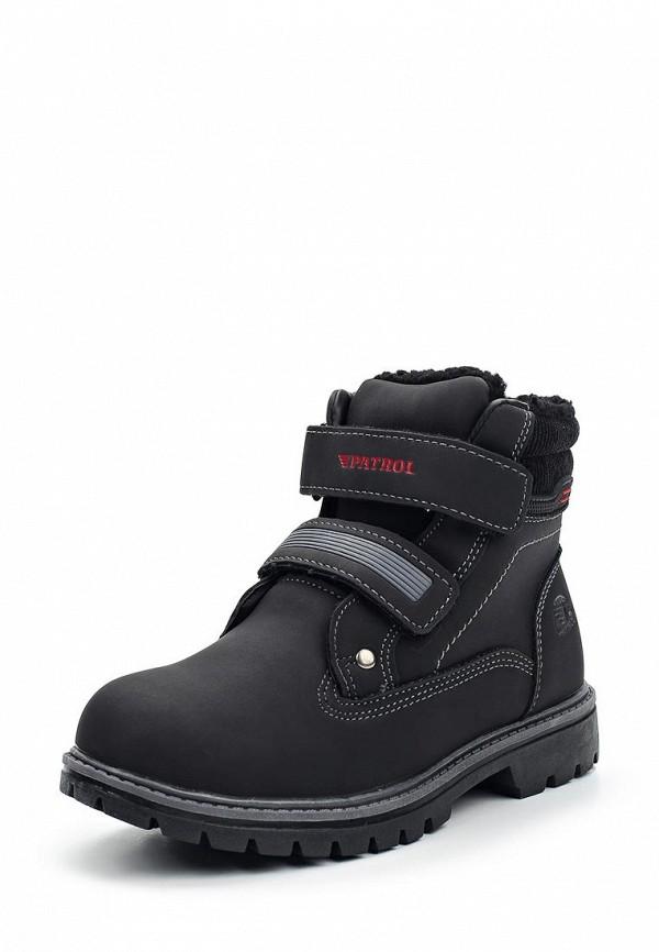 Купить Ботинки Patrol, PA050ABTKE05, черный, Осень-зима 2017/2018