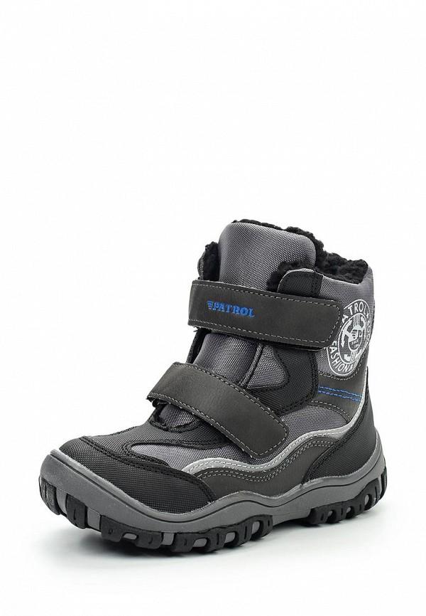 Купить Ботинки Patrol, PA050ABTKE10, черный, Осень-зима 2017/2018