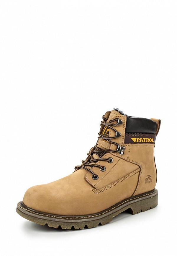 Мужские тимберленды Patrol (Патрол) 456-103PM-17w-4-4