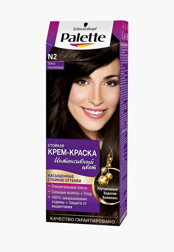 Купить Краска для волос Palette, Стойкая N2 Тёмно-каштановый, 100 мл, PA061LWJOK65, Весна-лето 2018