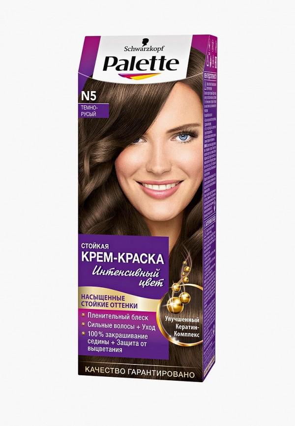 Купить Краска для волос Palette, Стойкая N5 Тёмно-русый, 100 мл, PA061LWJOK71, Весна-лето 2018