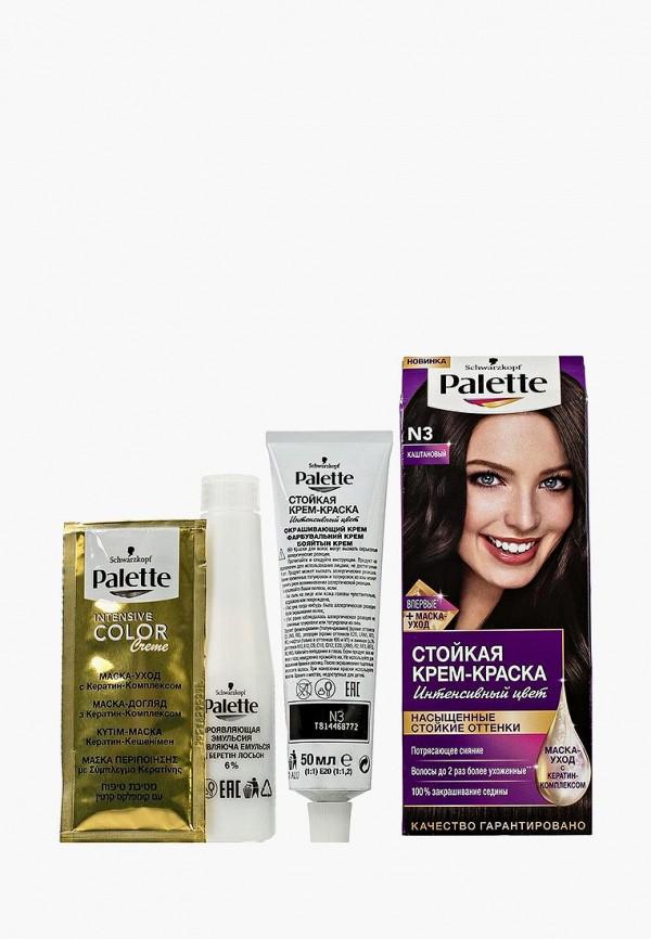 Купить Краска для волос Palette, Стойкая N3 Каштановый, 100 мл, PA061LWJOK74, Весна-лето 2018