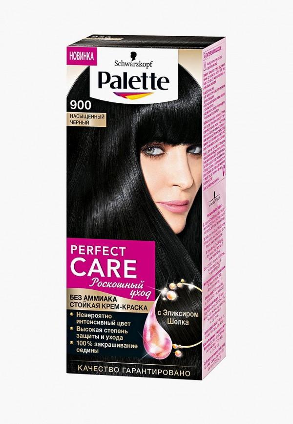 Купить Краска для волос Palette, PERFECT CARE 900 Насыщенный Черный, 110 мл, PA061LWJOK88, Весна-лето 2018