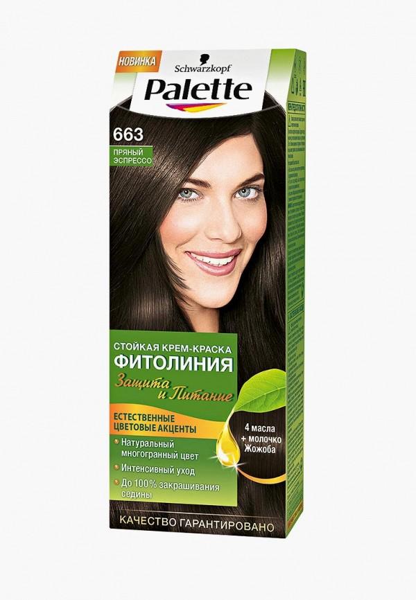 Купить Краска для волос Palette, ФИТОЛИНИЯ 663 Пряный эспрессо, 110 мл, PA061LWJOL15, Весна-лето 2018