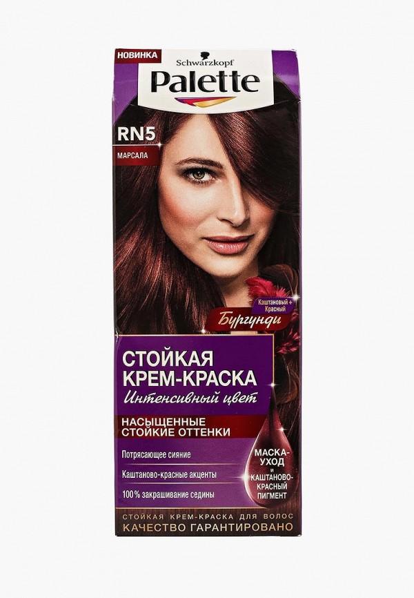 Купить Краска для волос Palette, Стойкая RN5 Марсала, 110 мл, PA061LWSII56, Весна-лето 2018