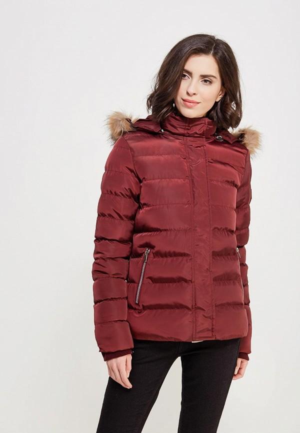 Купить Куртка утепленная PaperMint, PA074EWAAMJ5, бордовый, Весна-лето 2018