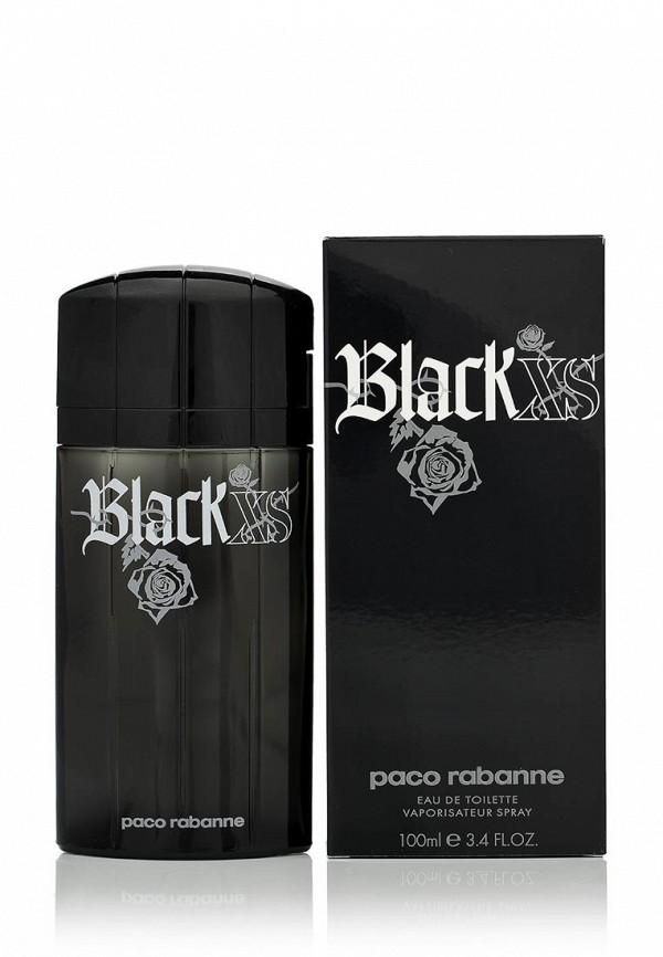 Туалетная вода Paco Rabanne Black XS 100 мл
