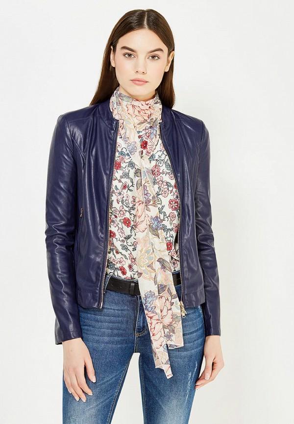 цена Куртка кожаная Patrizia Pepe Patrizia Pepe PA748EWTUR63 онлайн в 2017 году