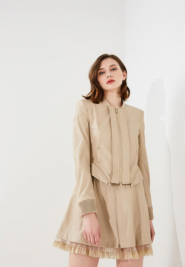 цена Куртка кожаная Patrizia Pepe Patrizia Pepe PA748EWYLJ28 онлайн в 2017 году