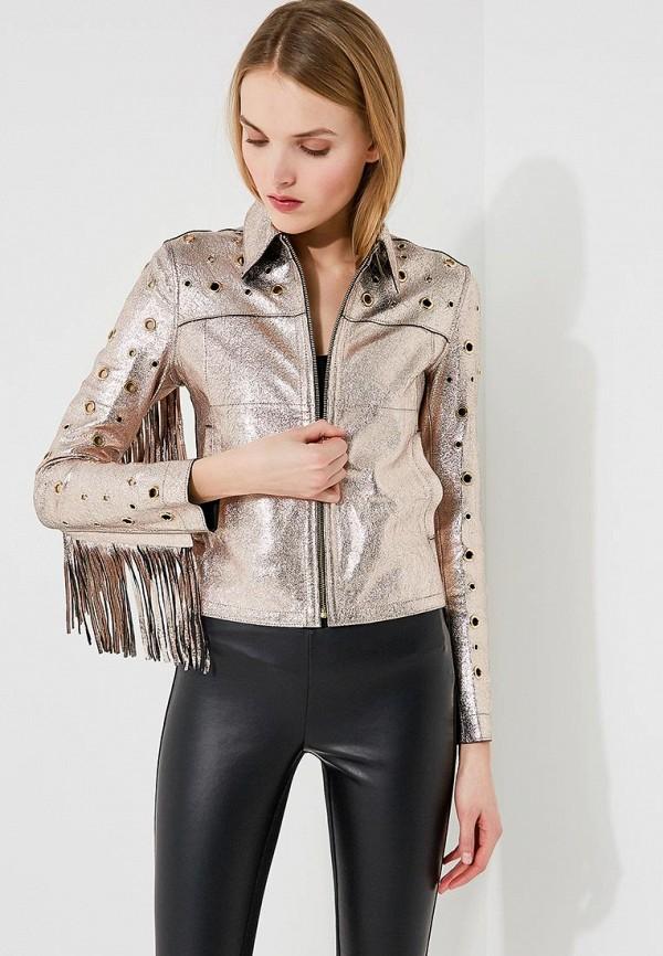 цена Куртка кожаная Patrizia Pepe Patrizia Pepe PA748EWYLJ36 онлайн в 2017 году