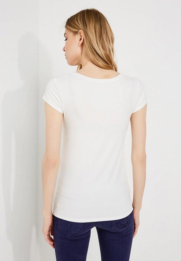 Фото 3 - женскую футболку Patrizia Pepe белого цвета