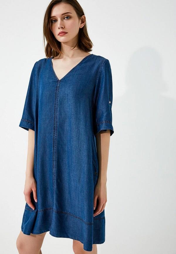 Платье джинсовое Pennyblack Pennyblack PE003EWAEDT7 джинсовое платье