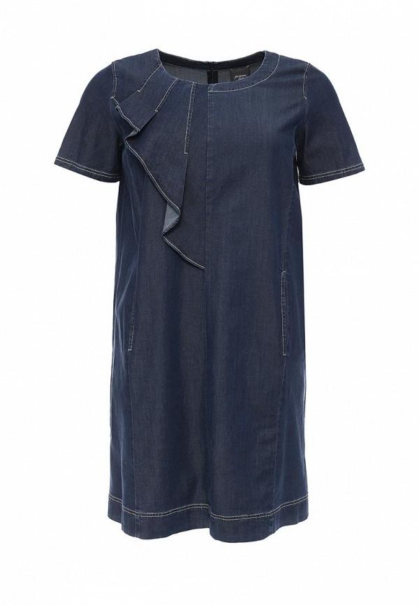 цена  Платье джинсовое Persona by Marina Rinaldi Persona by Marina Rinaldi PE025EWQBI01  онлайн в 2017 году