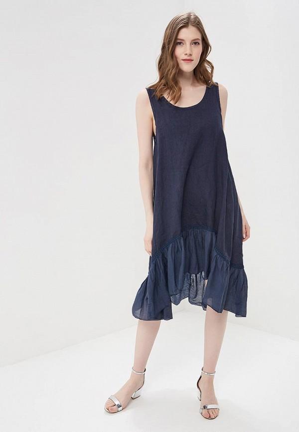 Фото - женское платье Perfect J синего цвета
