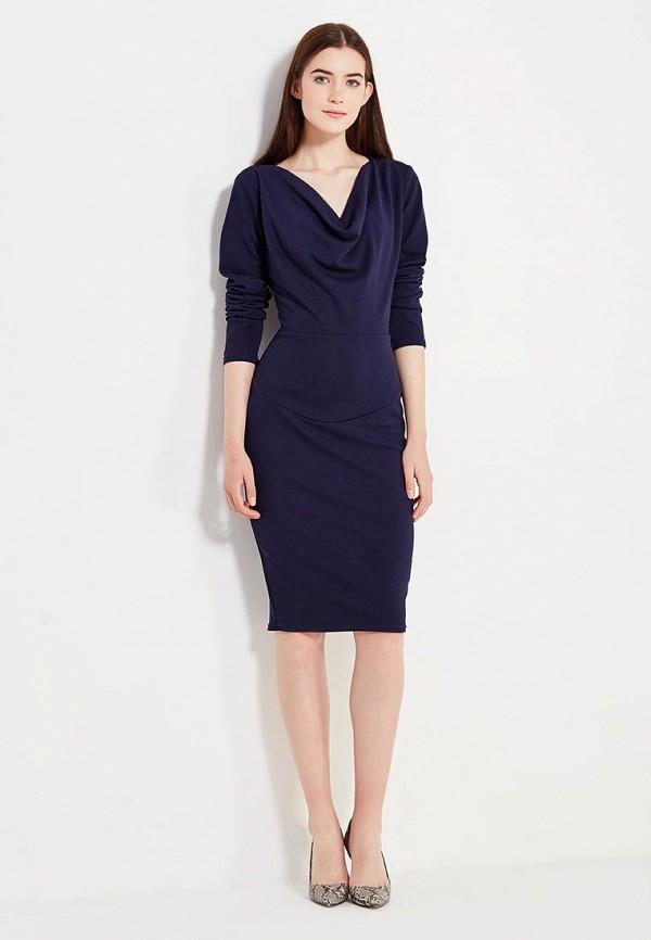 Фото 2 - женское платье Peperuna синего цвета