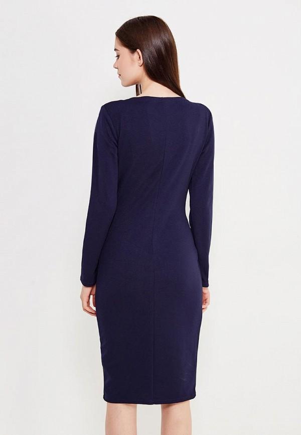 Фото 3 - женское платье Peperuna синего цвета