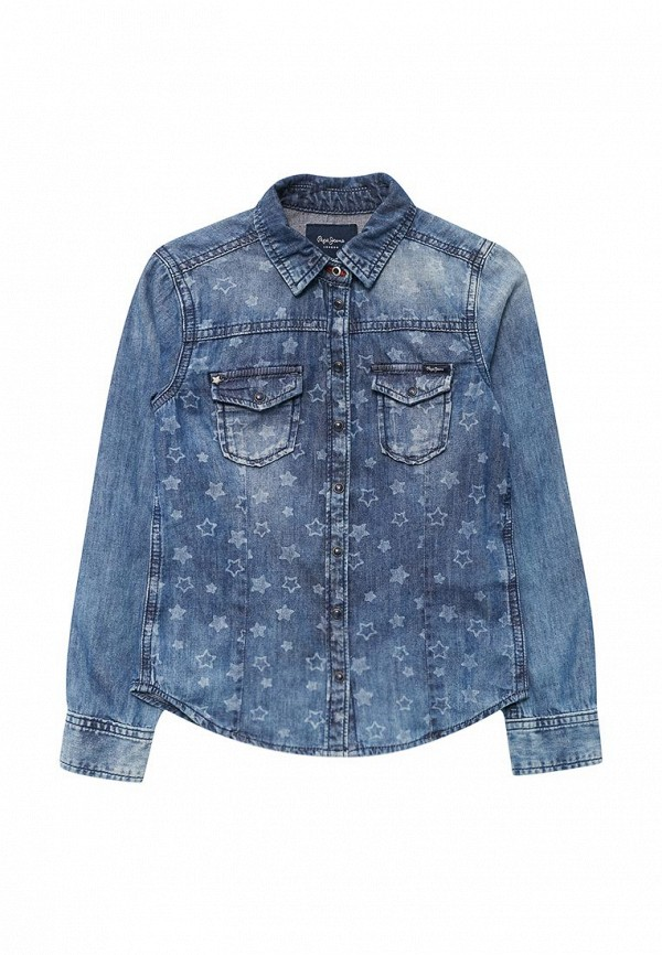 Рубашка джинсовая Pepe Jeans Pepe Jeans PE299EGUAA50 pepe jeans strand