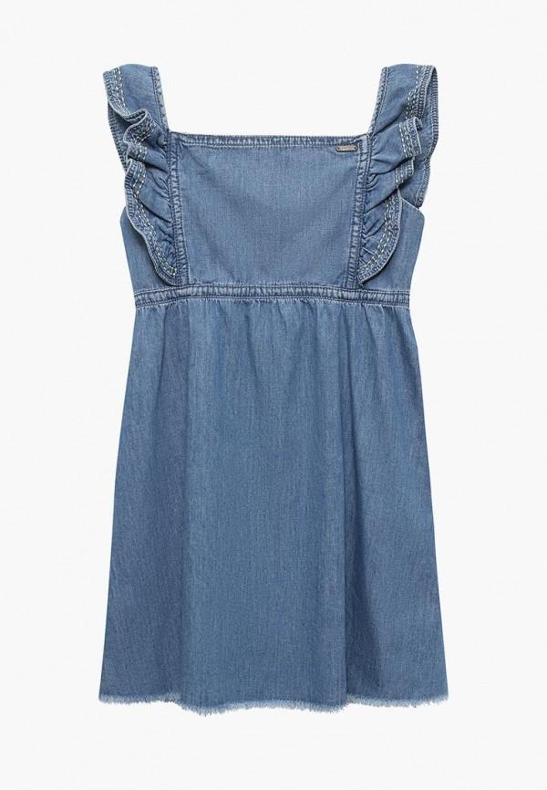 Платье джинсовое Pepe Jeans Pepe Jeans PE299EGZGI53 pepe jeans платье pepe jeans pl951690 0aa