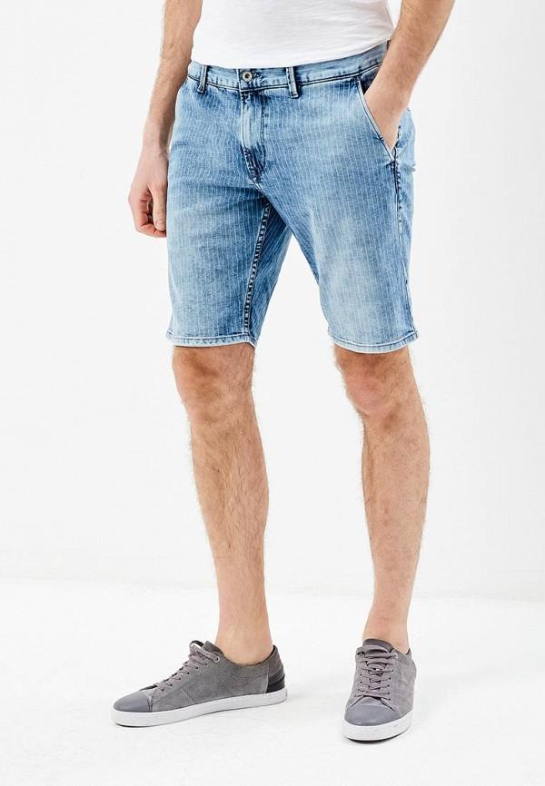 Шорты джинсовые Pepe Jeans Pepe Jeans PE299EMZGW99 шорты pepe jeans pepe jeans pe299emiil80