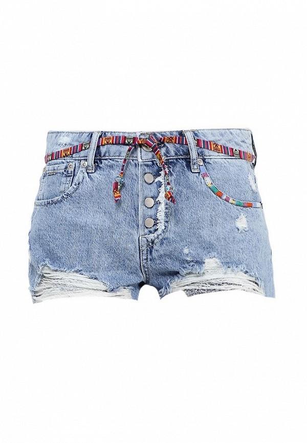 Шорты джинсовые Pepe Jeans Pepe Jeans PE299EWPYU28 цена 2016