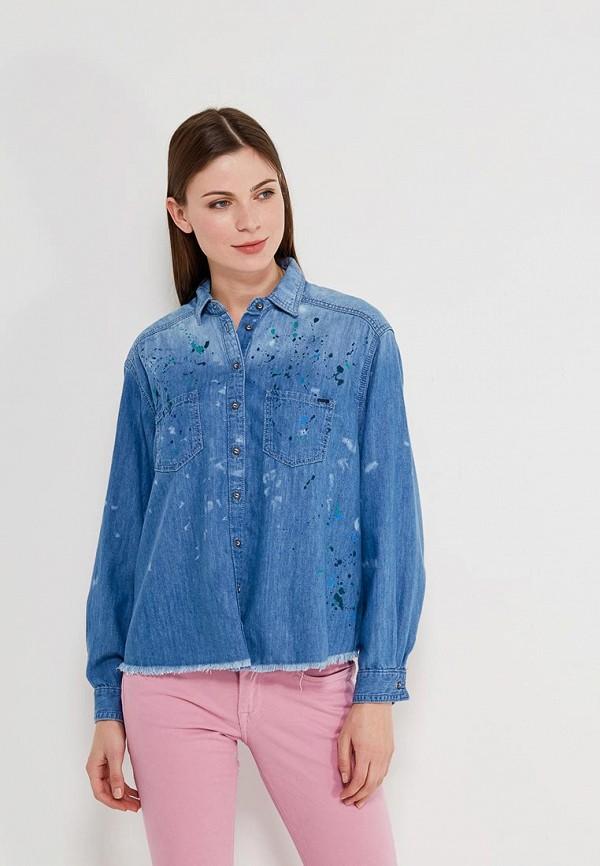 Фото Рубашка джинсовая Pepe Jeans. Купить с доставкой