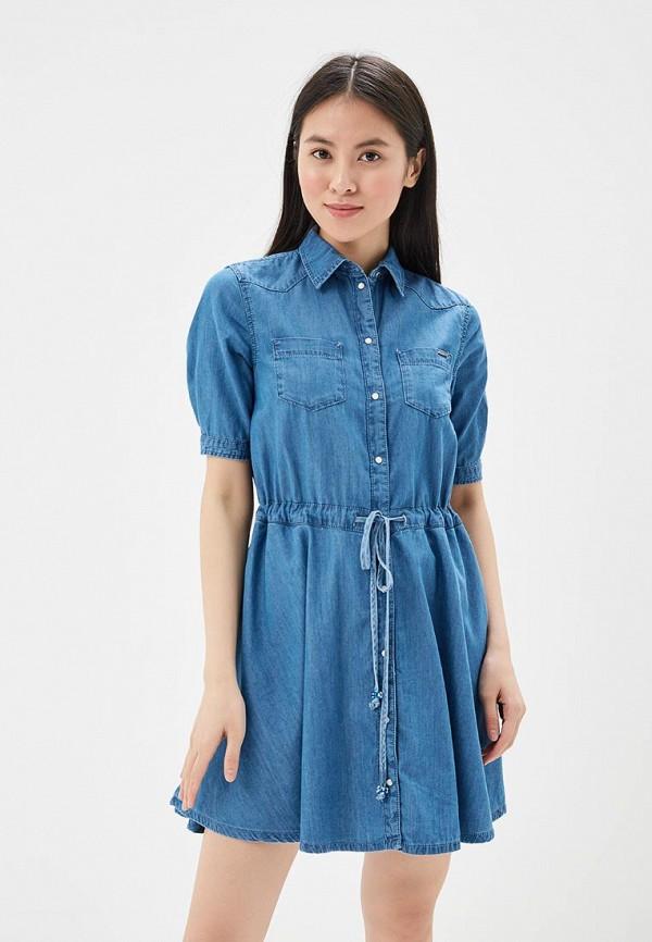 Платье Pepe Jeans Pepe Jeans PE299EWZGW41 pepe jeans платье pepe jeans pl951690 0aa
