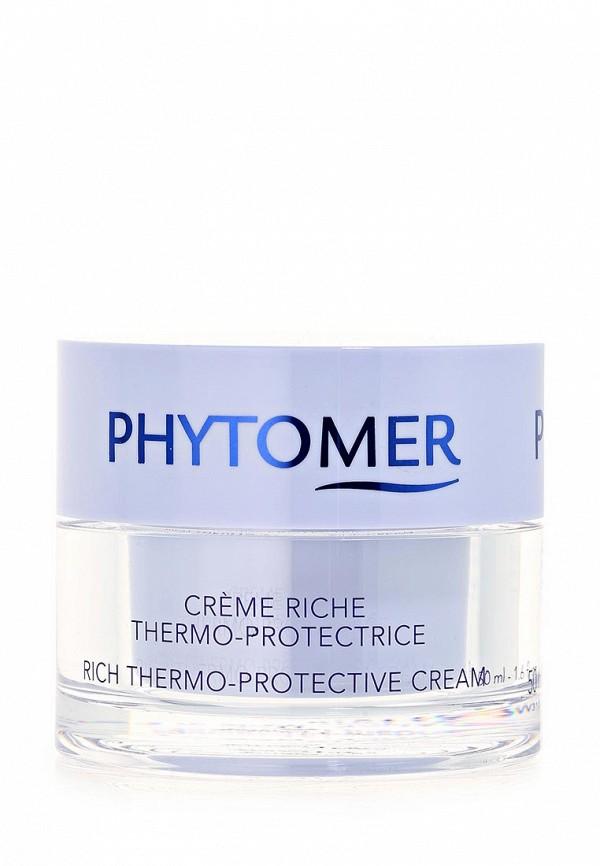 Термо-защитный питатательный крем Phytomer. Цвет: прозрачный