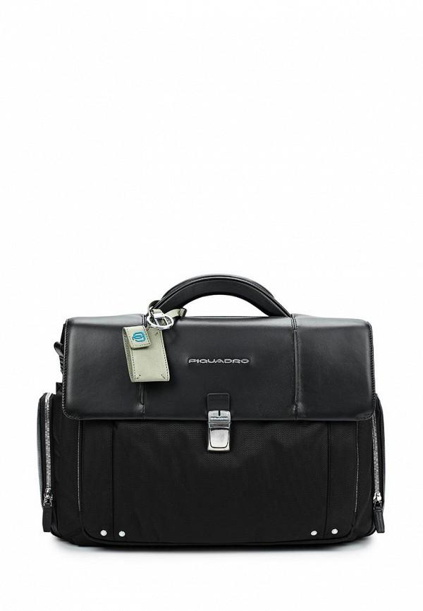 Портфель Piquadro Piquadro PI016BMUXA28 сумка piquadro черный