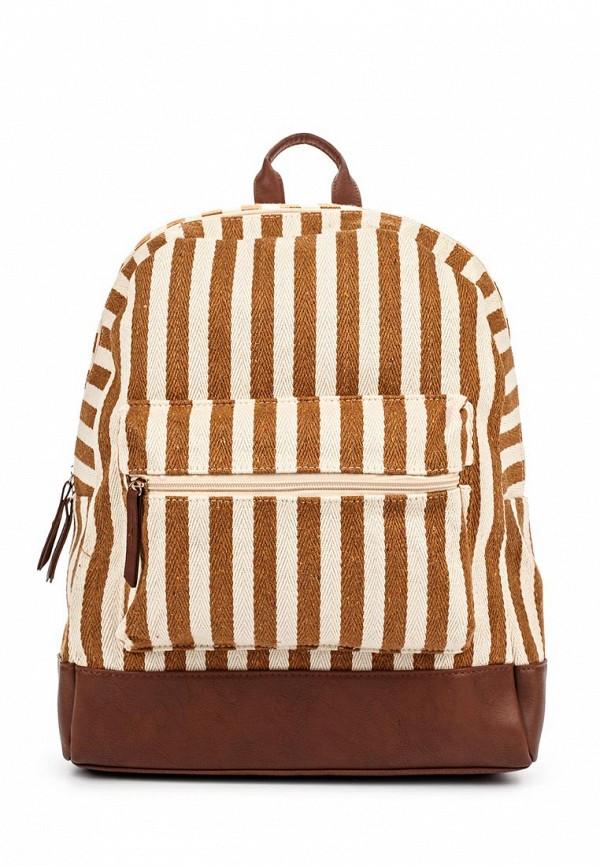 Рюкзак Piazza Italia. Цвет: коричневый