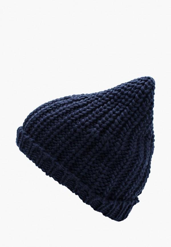 Фото - женскую шапку Piazza Italia синего цвета