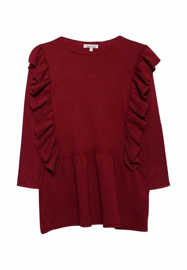 Фото - Платье Piazza Italia бордового цвета
