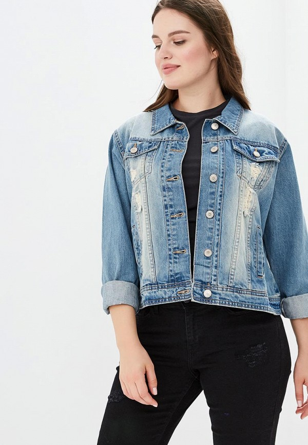 Фото Куртка джинсовая Pink Woman. Купить с доставкой
