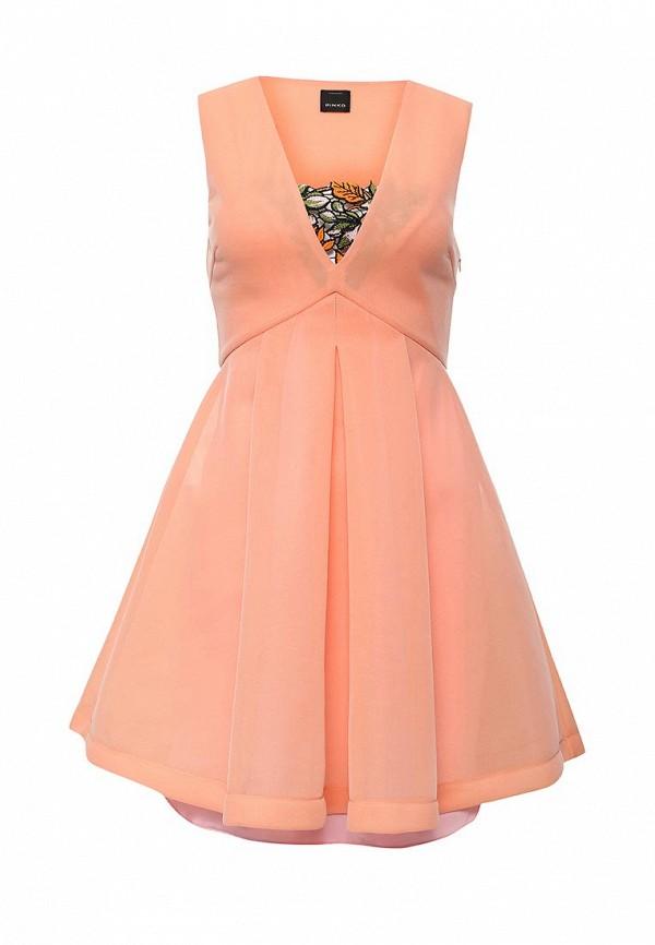 платье из шифона радуга